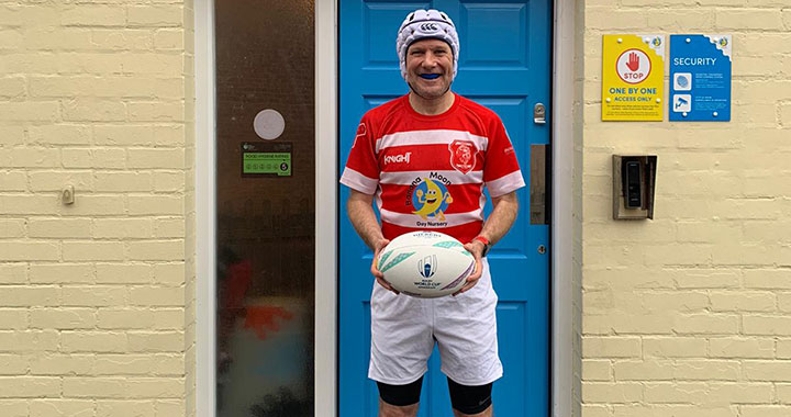 Barney's Rugby Run: Banana Moon network supports world-record attempt for charity